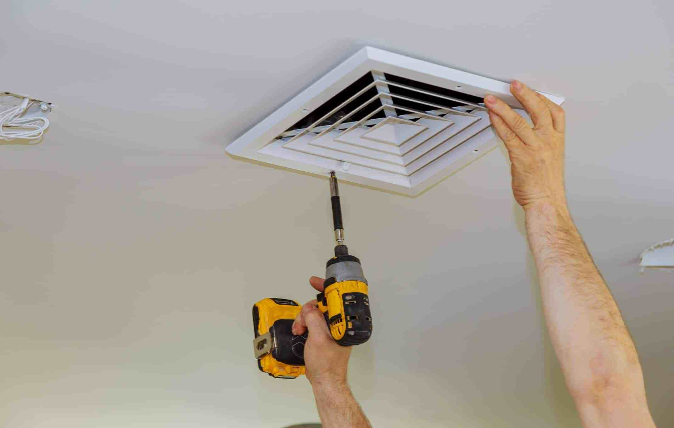 Cleaning air ducts yourself