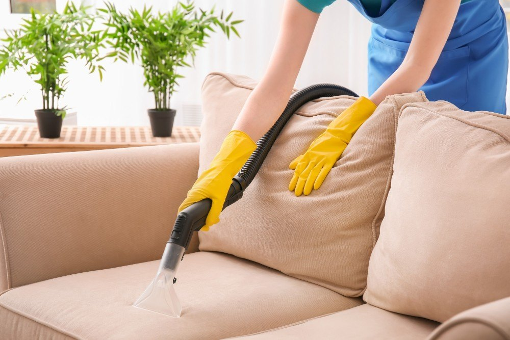 How to remove dirt from microfiber sofas