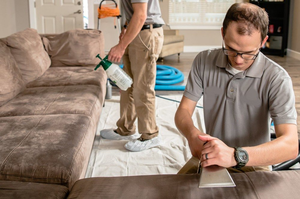 How to remove grease from microfiber sofas