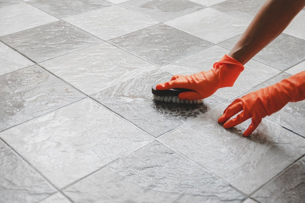 Professionals Clean Grout Better