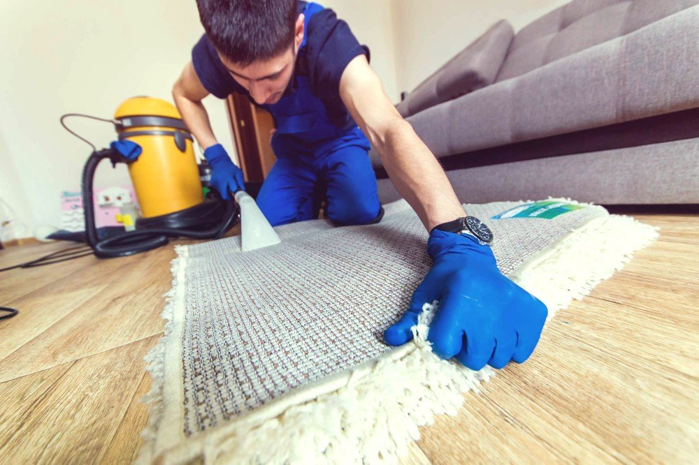 The best way to clean a rug at home
